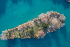the island (marco_brst) Tags: peschiera gardalake lagodigarda landscape drone amazing nature blue water river lake veneto verona view panorama colour colori tree travel island