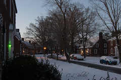 20190120 - 001 (C L Belcher) Tags: snow kentucky morning winter outside outdoors city fortknox