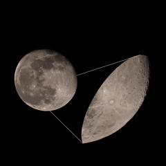 ISS Lunar Transit Jan 22 (nicklucas2) Tags: astrophotography moon moon2019 moonjan2019 internationalspacestation iss zarya transit
