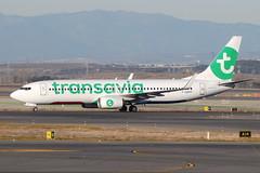 F-GZHT Boeing 737-8K2 Transavia France (eigjb) Tags: lemd madrid airport barajas aeropuerto international espana spain jet transport aviation plane spotting aircraft airplane airliner aeroplane 2019 fgzht boeing 7378k2 transavia france b737 737 737800
