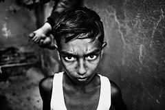 . (mharmanlikli) Tags: street child bw blackandwhite monochrome contrast fujifilm people