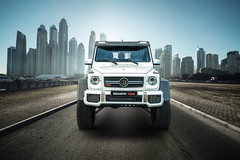BRABUS 700 4x4-2 - 04 (Az online magazin) Tags: dubai emirate city building arab road urban united east architecture travel modern skyscraper business tower street uae cityscape middle highway transport downtown tourism transportation traffic view futuristic scene day landscape arabic arabia landmark exterior sky arabian luxury skyline blue large asia high metropolis sun sunny