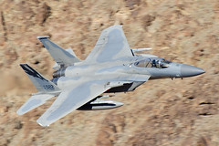 "194th FS ""Griffins"" F-15C (thetford569) Tags: starwarscanyon military aircraftmilitary death valley california"