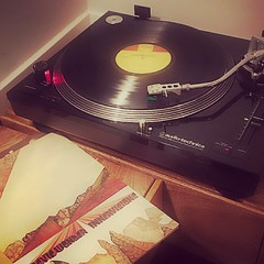 Turntable + Stevie (LaurenBacon) Tags: vinyl records record player turntable music listening stevie wonder