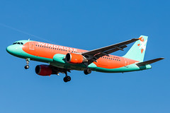 Windrose Airlines A320 (ferenckobli) Tags: airplane aircraft airliner airport aviation airbus a320 lhbp spotting