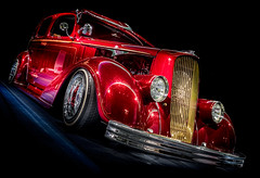 RED ROD (Dave GRR) Tags: hotrod ratrod retro vintage classic oldcar toronto auto show 2019 olympus