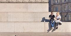 Considering The Next Step ? (jaykay72.) Tags: london uk street candid streetphotography trafalgarsquare stphotographia