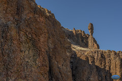 Owyhee Rock Gods (TheArtOfPhotographyByLouisRuth) Tags: rocks outdoor owyhees oregonstateparks oregonowyhees mountain rock sky landscape mountainside rockformation statue rockscapes artistic artofimages rockformations rockgod creatures artwithyourheart finegold