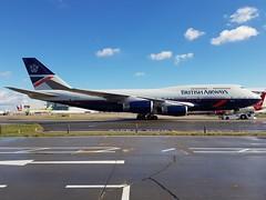 G-BNLY | British Airways | Boeing 747-436 (geoffieb) Tags: britishairways speedbird baw ba landor retro gbnly boeing boeing747 boeing747400 747436 londonheathrowairportlhr egll ba100 cityofswansea