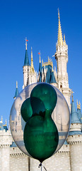 Cinderella Castle Mickey Balloon DSC_0074_edited-1 (John Dreyer) Tags: florida nikon nikond5100 waltdisneyworld copyright2019johnjdreyer photocreditjohndreyer cinderellacastle