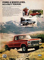 1978 Ford F-250 4X4 F-150 Shorty Flareside  & SuperCab Pickup Trucks USA Original Magazine Advertisement (Darren Marlow) Tags: 1 2 4 5 7 8 9 19 78 1978 f ford f250 4x4 f150 s shorty flareside supercab p pickup c car cool collectible collectors classic v vehicle a automobile u us usa united states american america 70s