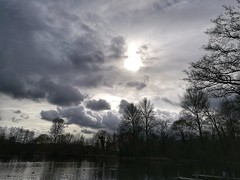 Cloudscape at the Aquadrome Rickmansworth (IanAWood) Tags: theaquadrome rickmansworth hertfordshire thechilterns clouds cloudscapes betweentheshowers landscapes androidphotography cameraphonephotographer mobilesnaps capturedonp9 huaweip9 editedinsnapseed leicamobile seenonmytravels notwalkingwithmynikon