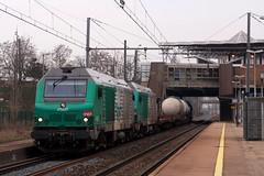 Vénissieux (Lyonrail) Tags: sncf fret bb75000 vénissieux