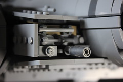 1 - Dial (KirtonBricks) Tags: millennium falcon lego mod moc 75192 custom star wars build building bricks gun technic gear