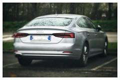 (Moro972) Tags: trees italy italia iphone6 2019 auro white bianco border effect silver argento wheels car a5 audi