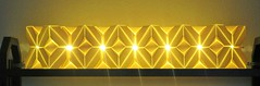 TriCubes - X-Lamp (pia miller) Tags: origami sonobe paperart cubes
