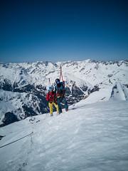 IMG_20190324_123154 (N1K081) Tags: alps arlberg austria berge bergtour mountains schnee ski skifahren skitour winter winterklettersteig österreich