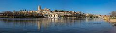 Zamora-reflejada en el Duero-pano (dnieper) Tags: duero reflejo zamora spain espana panorámica