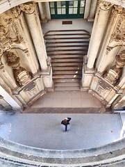 Zwinger Gallery, Dresden, Germany (trine.syvertsen) Tags: staircase gallery germany building castle dresden zwinger