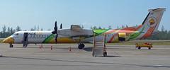 Nok Air De Havilland Canada DHC-8-402Q HS-DQD (EK056) Tags: nok air de havilland canada dhc8402q hsdqd chumphon airport