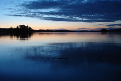 DSC05059 (MSchmitze87) Tags: schweden sweden dalsland kanu canoeing see lake sunset