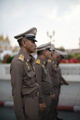 Attention !! (fredMin) Tags: military police people army thailand thai bangkok portrait uniform asia fujifilm xt2