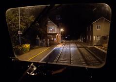 The Heckington Wave (Wulfruna) Tags: 6m08 grid 56078 colas steel freight railway diesel locomotive bostonsteel uk england heckington station lincolnshire signalbox signaller