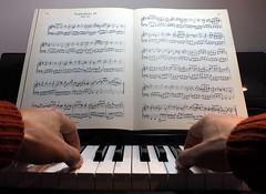 Twenty Four (singinghedgehog) Tags: 365the2018edition 3652018 day358365 24dec18 project365 advent twentyfour piano bach keyboard music sheetmusic