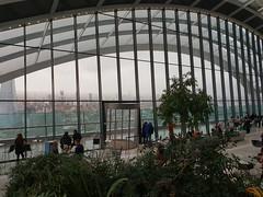 Sky Garden (jane_sanders) Tags: london walkietalkie skygarden 20fenchurchstreet cityoflondon theshard shard stratase1