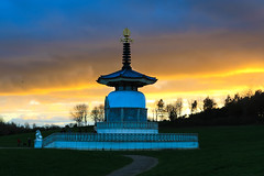 Peace Pagoda, Milton Keynes