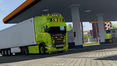 Riga (black_moloko) Tags: smds scania ets2 eurotrucksimulator2 screen shot truck riga latvia