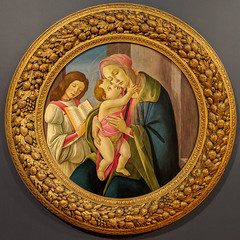 """Madonna and Child with an Angel"", Sandro Botticelli (late 1400s) (Joey Hinton) Tags: greenville county art museum google pixel2 android smartphone cellphone cameraphone phone south carolina"