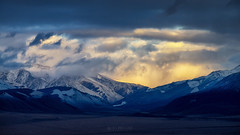 Evening in mountains (alvytsk) Tags: siberia altay autumn mountains landscape evening sunset clouds