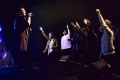 Proclaimers Sunday Jan. 20th, 2019-6 (tunde.osinaike) Tags: worship singer stage hands tanya