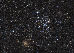 M35 / NGC2158 – 2019 (peterfolkesson) Tags: astrometrydotnet:id=nova3159197 astrometrydotnet:status=solved