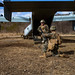 U.S. Marines exit an MV-22B Osprey and provide security during exercise Forest Light 19.2