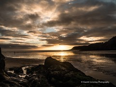 Sunset over Caswell Bay 2019 01 25 #25 (Gareth Lovering Photography 5,000,061) Tags: sunset sun sunny sunshine caswell gowercoast gower swansea wales seaside landscape beach walescostalpath olympus penf garethloveringphotography