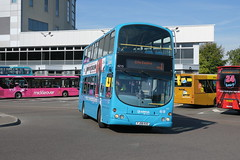 10632 20180929 Arriva Midlands FJ58 KXO (CWG43) Tags: bus uk arrivamidlands volvo b9tl wright fj58kxo