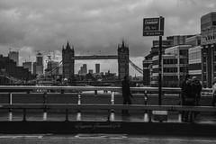 Tower Bridge in B&n (baridue) Tags: towerbride england london streetphoto streetphotography street londonstreet nikon raining
