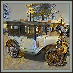 It is not how old you are, but how you are old. (Jules Renard) (boeckli) Tags: 004888 rx100m6 car auto vehicle fahrzeug textures texturen texture textur frame rahmen ddg deepdreamgenerator julesrenard old vintage oldtimer wheel wheels räder outdoor napier newzealand