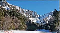Retour au Mont Dore© Petites pistes du bas de la station (philippedaniele) Tags: montagne auvergne montdore sancy crêtes aiguilles vallées neige