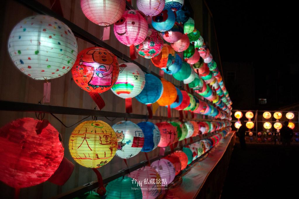 六甲媽祖廟燈會 | 最接地氣的恒安宮花燈-5