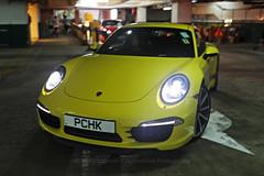 Porsche, 991 Carrera S, Hong Kong (Daryl Chapman Photography) Tags: pchk porsche german 911 hongkong china sar canon 5d mkiv sigma art 35mm f14 auto autos automobile automobiles car cars carspotting carphotography yellow yellowfever 991 carrera carreras