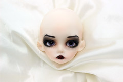 BJD Face Up - Doll in Mind Chloe (IzasFaceUps) Tags: bjd abjd balljointeddoll faceup bjdfaceup izasfaceups dimdoll dollinmind dollinmindchloe dimchloe gothicfaceup