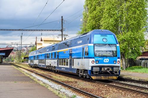 471 079-4 ČD City Elefant Nádraží Praha-Vršovice 01.05.15