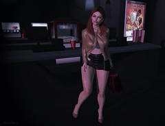 Let's Go To The Movies (ღ Sɑrɑɑh Drɑgoone ღ) Tags: movies cine girl cute gorgeous sexy bag woman maitreya lelutka secondlife pic photo caramel red ginger popcorn bentoav mesh game