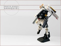 PROTO-ENGEL SAHAQUIEL (Dead Frog inc.) Tags: lego mech suit drone angel hardsuit
