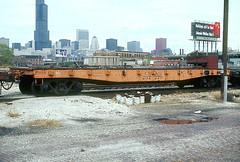 CB&Q MWF 207279 (Chuck Zeiler 48Q) Tags: cbq class mwf 207279 burlington railroad flatcar flat car freight mow chicago train chuckzeiler chz