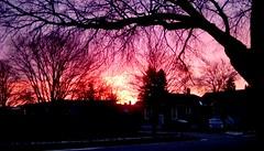 Sunday sunrise!! (Maenette1) Tags: sunday sunrise beautiful neighborhood menominee uppermichigan flicker365 allthingsmichigan absolutemichigan projectmichigan
