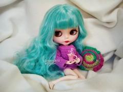 Good Morning (Linayum) Tags: blythe blythedoll doll dolls muñeca muñecas ganchillo handmade crochet linayum